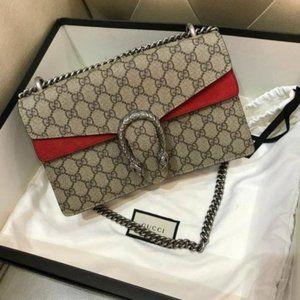 🌷Gucci Dionysus small GG Supreme shoulder bag